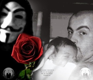 Anonymous remembers DAX. Credits: Anonymous Italia