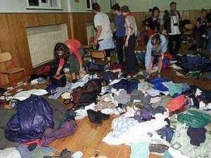 The Diaz school after the raid