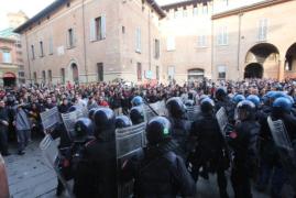 piazza verdi scontri